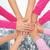 mãos · câncer · consciência · símbolo · saúde - foto stock © dolgachov
