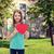 tienermeisje · groot · Rood · hart · vrouw - stockfoto © dolgachov