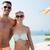 familia · feliz · hotel · Resort · piscina · verano · vacaciones - foto stock © dolgachov