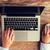 vrouwelijke · handen · laptop · muis · business - stockfoto © dolgachov