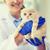 ветеринар · котенка · клинике · медицина · ПЭТ - Сток-фото © dolgachov