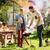 groep · vrienden · picknick · barbecue · outdoor - stockfoto © dolgachov