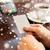 mulher · café · cartão · de · crédito · café · imagem - foto stock © dolgachov