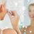 女性 · 洗浄 · 顔 · バス · グレー · 手 - ストックフォト © dolgachov