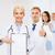 feminino · médico · indicação · cópia · espaço · clipboard - foto stock © dolgachov