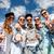 mosolyog · tinédzserek · napszemüveg · akasztás · kívül · nyár - stock fotó © dolgachov