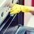 女性 · 洗浄 · オーブン · ホーム · キッチン - ストックフォト © dolgachov