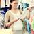 feliz · mulher · grávida · compras · roupa · armazenar · gravidez - foto stock © dolgachov