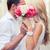 romantyczny · para · całując · kobieta · erotyczne - zdjęcia stock © dolgachov