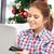 szczęśliwy · laptop · karty · kredytowej · online - zdjęcia stock © dolgachov