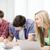 studenti · iscritto · test · esame · lezione · scuola - foto d'archivio © dolgachov