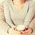женщину · человека · далеко · чашку · кофе · рук - Сток-фото © dolgachov