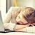 vervelen · vrouw · werken · laptop · jonge · vrouw · kantoor - stockfoto © dolgachov