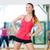 улыбаясь · тренер · спортзал · фитнес · спорт - Сток-фото © dolgachov