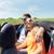 gelukkig · vrienden · rijden · kabriolet · auto · recreatie - stockfoto © dolgachov