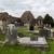 cmentarz · kościoła · ruiny · chmury · szczęśliwy - zdjęcia stock © dolgachov