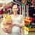 kadın · meyve · alışveriş · çantası · alışveriş - stok fotoğraf © dolgachov
