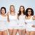 internacional · grupo · feliz · mujeres · diversidad - foto stock © dolgachov