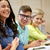group of students at lecture stock photo © dolgachov