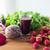 vidro · raiz · de · beterraba · suco · frutas · legumes · alimentação · saudável - foto stock © dolgachov