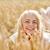 十代の少女 · 麦畑 · 黄色 · ファブリック · 自然 - ストックフォト © dolgachov