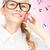 cute · nino · hablar · teléfono · celular · aislado · blanco - foto stock © dolgachov