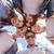 group of teenagers looking down stock photo © dolgachov