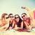 csoportkép · elvesz · kép · okostelefon · nyár · ünnepek - stock fotó © dolgachov