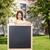 szczęśliwy · dziewczynka · tablicy · ludzi · reklama · edukacji - zdjęcia stock © dolgachov