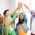 boldog · diákok · pacsi · iskola · oktatás · barátság - stock fotó © dolgachov