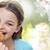 девушки · еды · Cookie · рот - Сток-фото © dolgachov