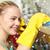 幸せ · 女性 · 洗浄 · ホーム · キッチン · 人 - ストックフォト © dolgachov