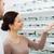 женщину · оптик · очки · оптика · магазине - Сток-фото © dolgachov