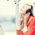 woman with headphones stock photo © dolgachov