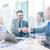 zakenman · onderneemsters · handen · schudden · kantoor · business · vrouw - stockfoto © dolgachov