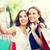 feliz · mulheres · venda - foto stock © dolgachov