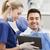 masculino · dentista · feminino · paciente · dental - foto stock © dolgachov
