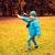 演奏 · 屋外 · 飛行機 · 笑みを浮かべて · 子供 - ストックフォト © dolgachov