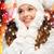 kadın · şapka · eşarp · eldiveni · kış · insanlar - stok fotoğraf © dolgachov