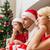 bunalımlı · aile · ev · çok · hediye · kutuları · aile · Noel - stok fotoğraf © dolgachov