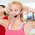 группа · улыбаясь · люди · спортзал · фитнес - Сток-фото © dolgachov