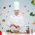 szczęśliwy · mężczyzna · kucharz · gotować · gotowania · żywności - zdjęcia stock © dolgachov