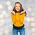 gelukkig · jonge · vrouw · tienermeisje · toevallig · kleding · mensen - stockfoto © dolgachov