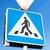 voetganger · verkeersbord · veiligheid · verkeer - stockfoto © dolgachov
