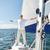altos · hombre · vela · barco · yate · vela - foto stock © dolgachov