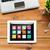 бизнеса · иконки · интернет · ноутбука · фон - Сток-фото © dolgachov
