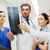 gruppo · colonna · vertebrale · Xray · scansione · ospedale · clinica - foto d'archivio © dolgachov