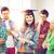 ragazza · laurea · cap · certificato · istruzione · concorrenza - foto d'archivio © dolgachov