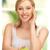 vrouw · groene · appel · foto · mooie · vrouw · home - stockfoto © dolgachov