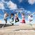 groep · tieners · springen · zomer · sport · dansen - stockfoto © dolgachov